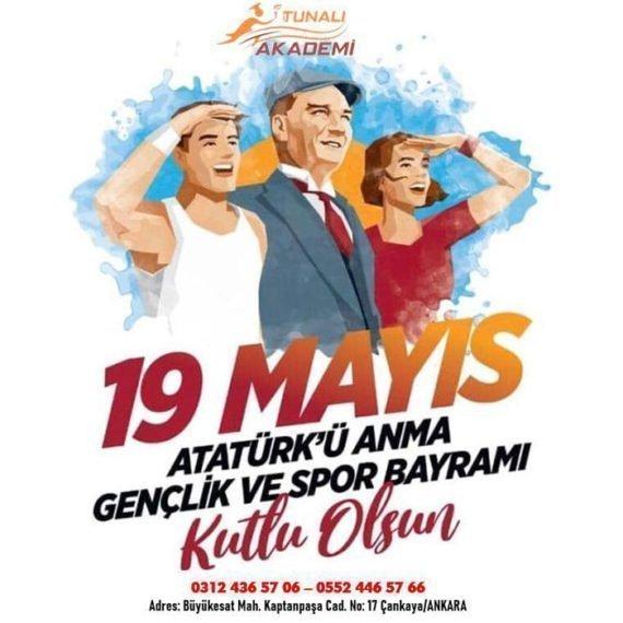 19 Mayıs 2021 Atatürk'ü Anma Gençlik ve Spor Bayramı